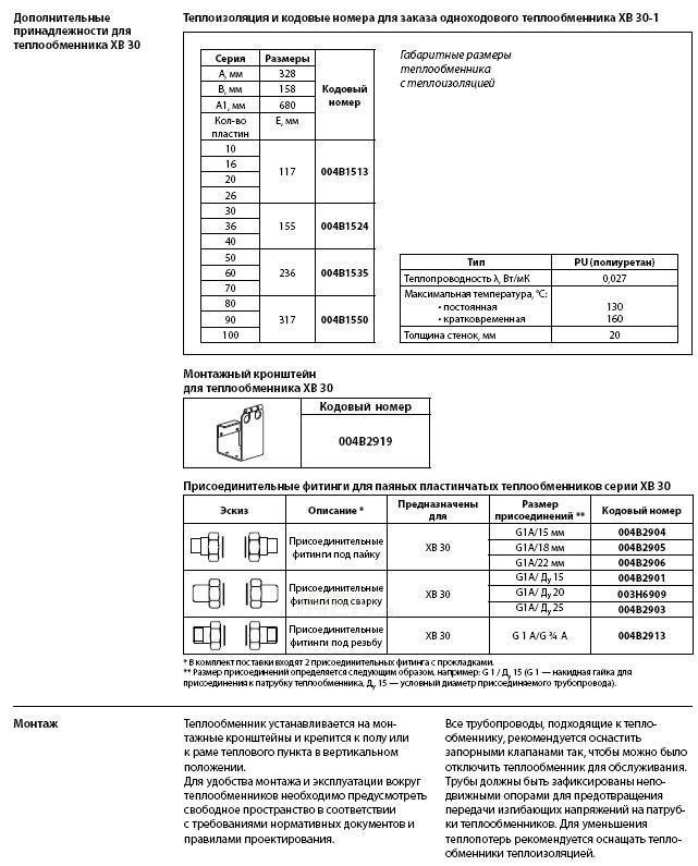 Вся документация на паяные теплообменники thermo top v запчасти теплообменник