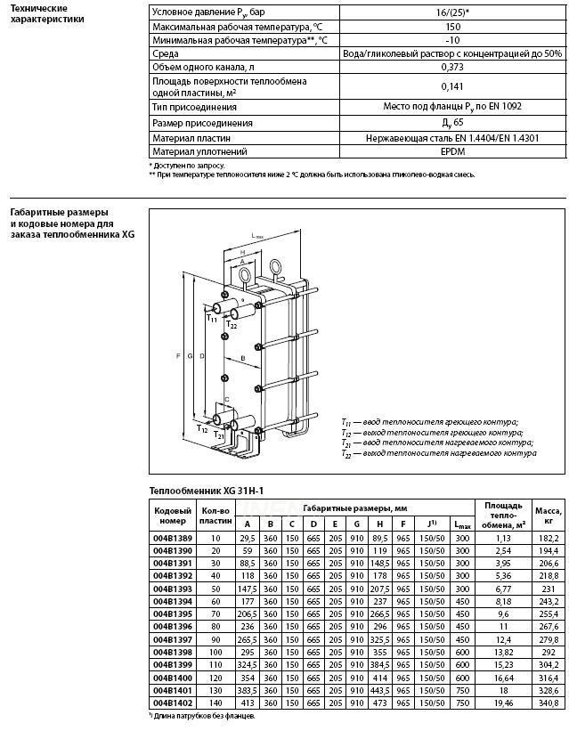 Xg31h-1 50 004b1393 теплообменник тёплый пол через теплообменник