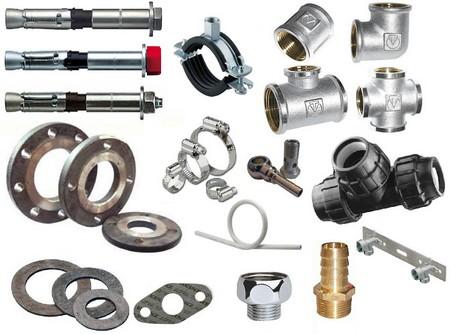 Детали трубопроводов и арматуры
