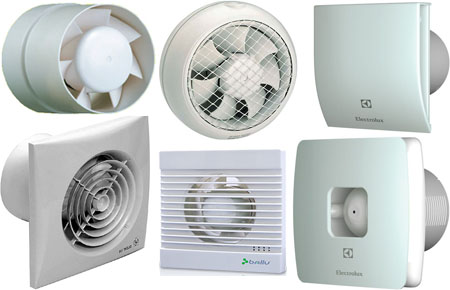Вентиляторы и принадлежности