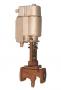 Запорные электромагнитные клапаны INEN из ковкого чугуна фланцевые