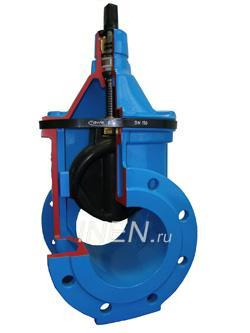 Клапан регулирующий км307ф fn02b141306 (адл) dn300 pn1,6 самовывоз